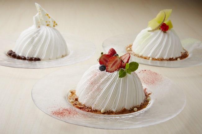 【ロイヤルパークホテル】進化系かき氷「スノードームケーキ」発売。今年の新作はタピオカミルクティー。
