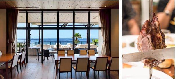 千葉・稲毛海浜公園の海辺レストランに家族でお出かけ。夏休み企画!3日間限定「夏のシュラスコプラン」が登場