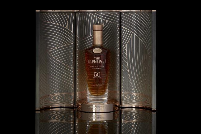 世界155本限定、日本国内2本限定のヴィンテージウイスキー「ザ・グレンリベット ウィンチェスターコレクション50年 ヴィンテージ1967」を販売