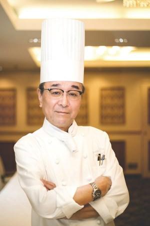 審査員長 万代シルバーホテル 総料理長 森本節生氏