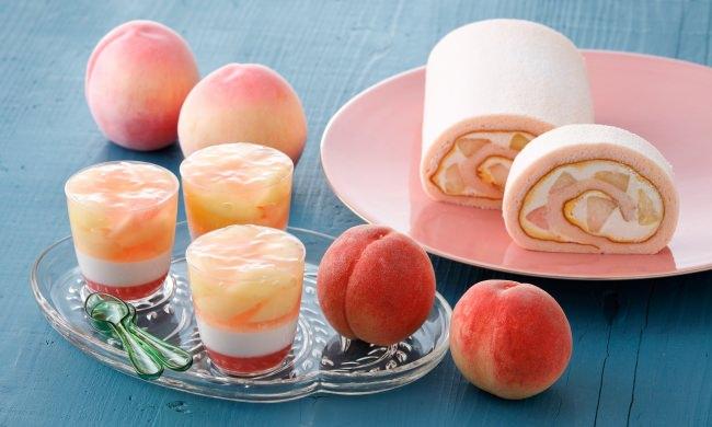 【パティスリー キハチ】桃の果肉を増量!桃づくしが楽しめる「ベリーヌ ピーチパルフェ」など、夏季限定の桃スイーツ