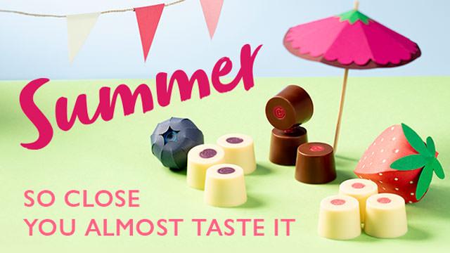 夏らしい爽やかなフルーツを存分に感じてください