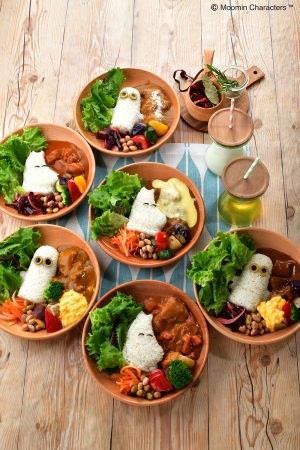 フィンランドの童話「ムーミン」をモチーフにしたムーミンカフェ サーモンフェアメニューに加えてサマーフェアメニューを追加!人気のキャラクタープレートがあのお料理に!