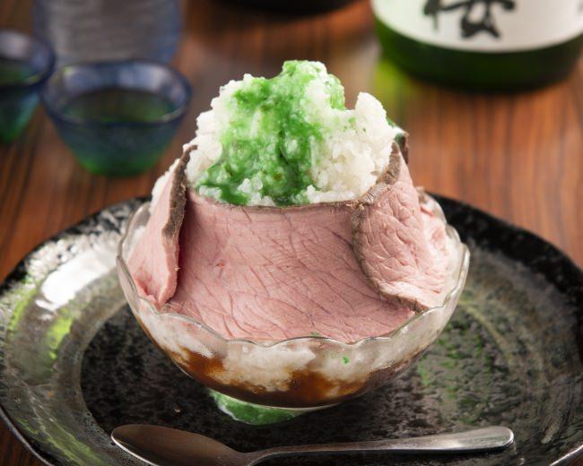 肉専門店のとろにくがプロデュース!ひんやり冷たい『黒毛和牛の肉氷』を新発売記念で500円で販売中!