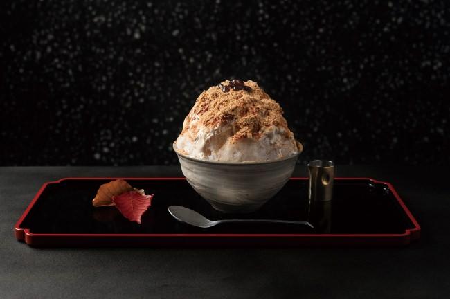 宮崎・シーガイアで1日限定20食の限定発売決定! 日本料理の名店が生み出した唯一無二のかき氷 廚 菓子 くろぎの「黒蜜きなこ」