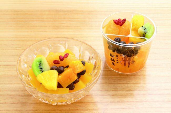 夏にしか食べられない!毎年大好評のフルーツたっぷり「夏かんてん」1ヵ月間だけの限定販売!