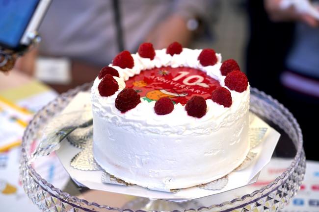 オリジナルアニバーサリーケーキ