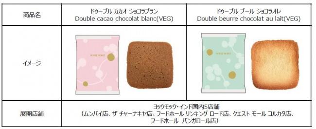 ヨックモック初!卵不使用のラングドシャークッキーをインド店舗にて8月中旬より販売開始