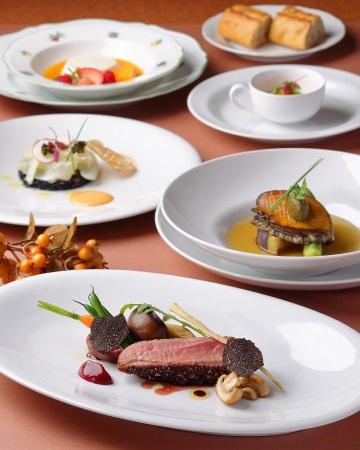 【オリエンタルホテル広島】毎月1夜、プレミアムフライデーに贈る特別フレンチコース「色づく秋のTasting Course」