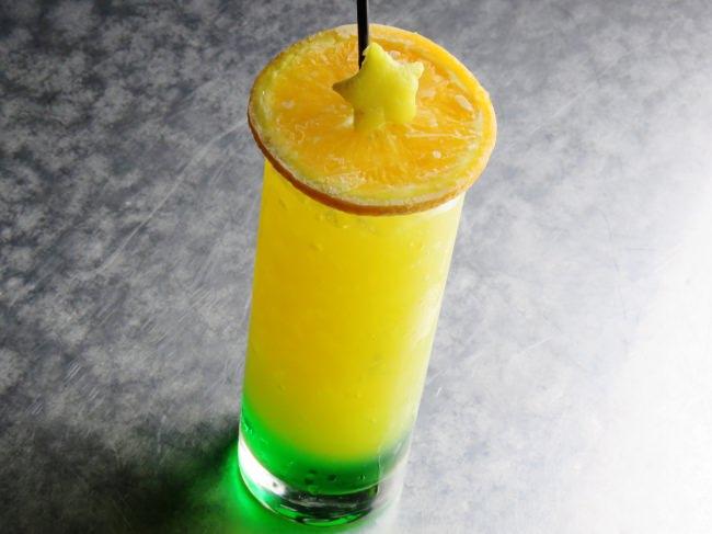 てんびんの秤をイメージしたオレンジのスライスが特徴 「てんびん座」