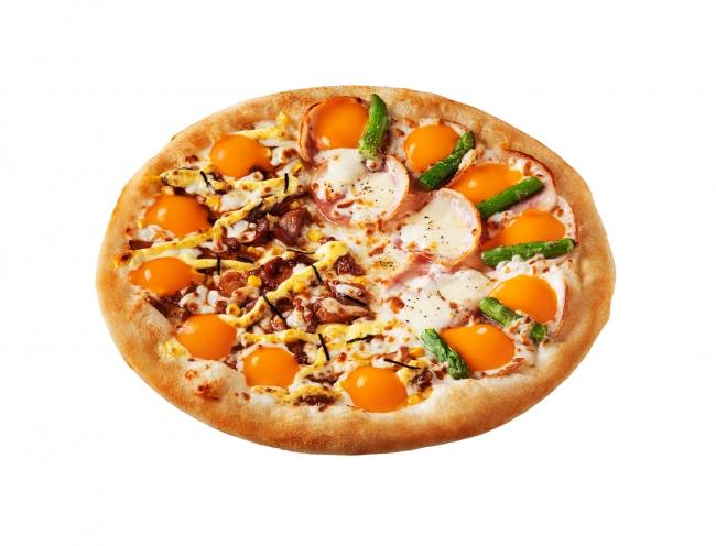 ポクてり月見ピザ