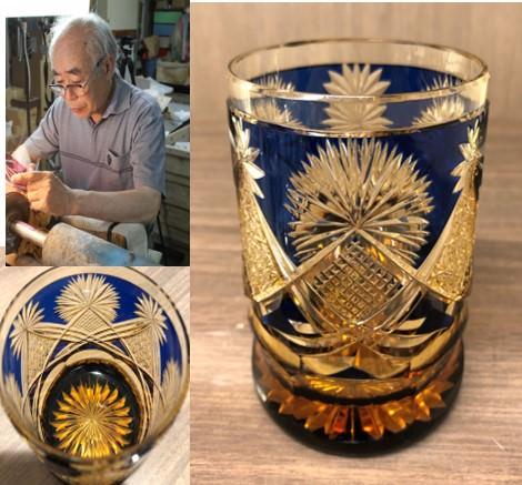 伝統的な逸品から現代的なデザインまで百花繚乱! 江戸切子 5作家グラスフェア