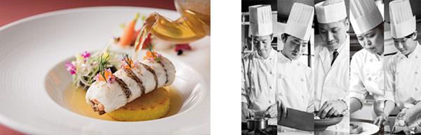 左から)西洋料理部門グランプリ作品(画像【1】)、各部門グランプリ受賞者