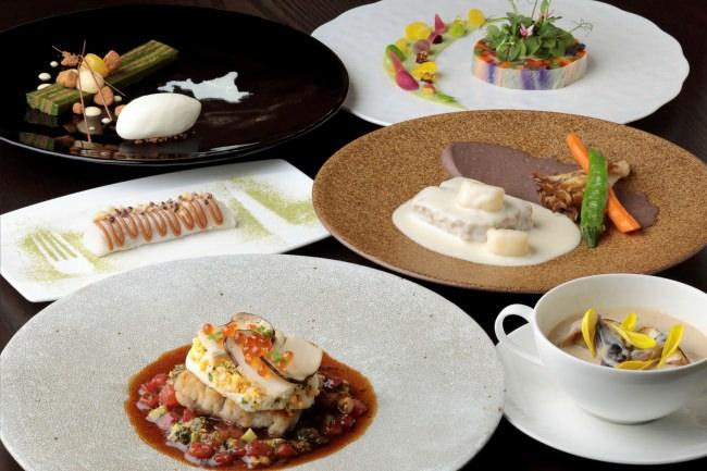 リーガロイヤルホテル京都 旅する回転レストランコラボレートディナー「リュヌ」