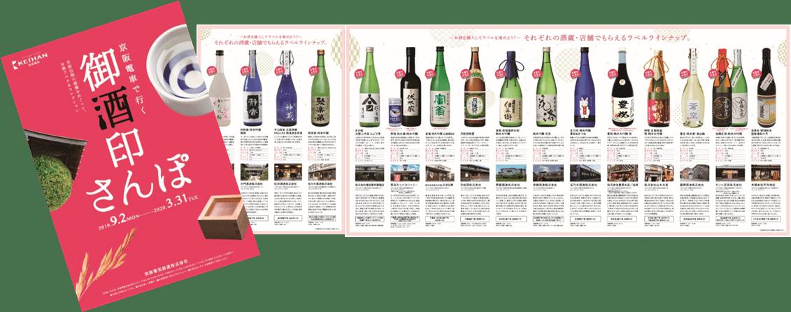 「京阪電車 御酒印さんぽ」を9月2日(月)から実施します