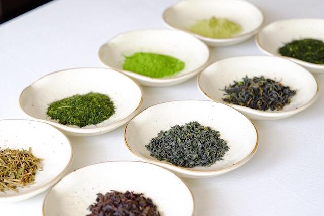 (全7種類、13品種の全国各産地のシングルオリジン日本茶をラインナップ)
