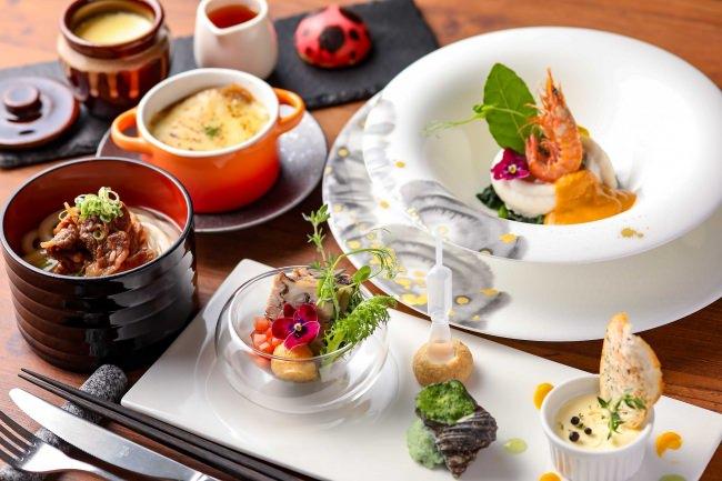 「島めぐりディナー」のご案内 瀬戸内国際芸術祭2019にちなんだコース料理を販売
