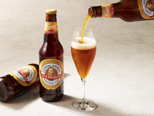 クラフトイビール「COOPERS Extra Strong Vintage Ale」