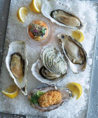 各種牡蠣料理イメージ(ランチオイスターバー)