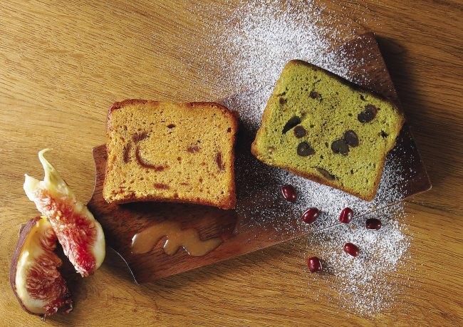 大好評につき欠品した贅沢パウンドケーキの新作がついに登場!季節限定の香り豊かな秋スイーツ「キャラメルいちじくケーキ」/「抹茶大納言ケーキ」9月12日(木)より発売開始
