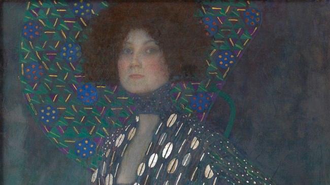 グスタフ・クリムト《エミーリエ・フレーゲの肖像》1902年 ウィーン・ミュージアム蔵 ©Wien Museum / Foto Peter Kainz