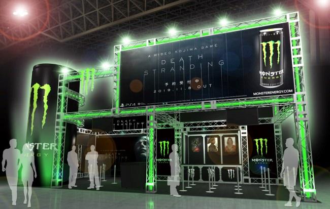 モンスターエナジー「東京ゲームショウ2019」オフィシャルドリンクに決定!PS4®ソフトウェア『DEATH STRANDING』とのコラボがスタート!