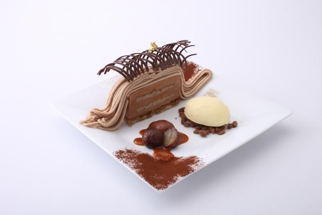 ベルギー王室御用達チョコレートブランド「ヴィタメール」神戸大丸店にて 10/1(火)より季節限定『モンブラン ショコラ デセール』を販売いたします。