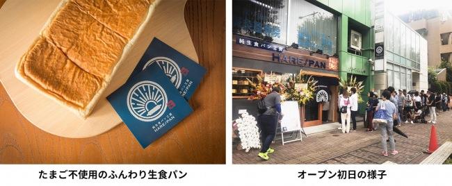 純生食パン専門店「HARE/PAN <晴れ時々ぱん>」が東京都中野区に初上陸