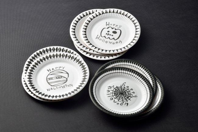 ハロウィン紙皿