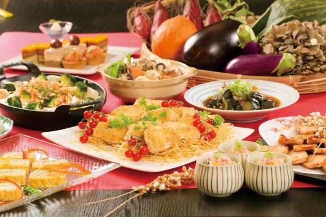 40種類の料理食べ放題!秋の味覚を堪能できるブッフェ開催