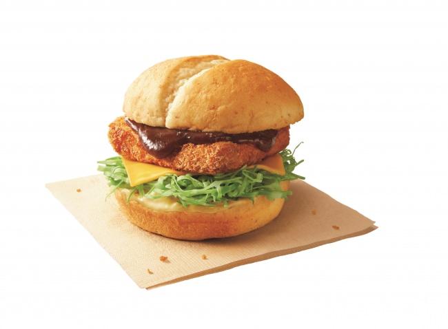 KFCオリジナルのチキンカツを使った洋風サンド「洋風チキンカツサンド<デミグラチーズ>」 10月1日(火)新発売