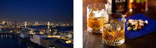 地上約100mの夜景の見えるバーが営業再開 SKY BAR「シーフォートクラブ」4年ぶりにオープン 第一ホテル東京シーフォートにて 2019年10月1日(火)より