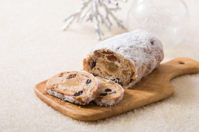 ◆徹底的にこだわったドライフルーツ ◆クリスマスまでのアドベントを楽しむスイーツ「ロイヤルシュトーレン」
