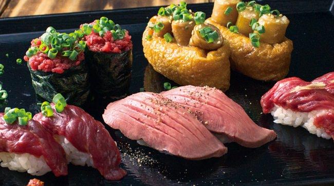 「肉寿司」イメージ