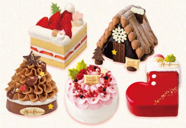 【銀のぶどう】2019クリスマスガトーコレクション『可愛いサイズのクリスマスケーキ』全5種が登場!