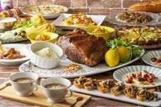 心温まるお料理でお出迎え。ホット・ウィンターフェス&ショコラスイーツ開催!!お肉、お魚、スイーツ全部食べ放題。