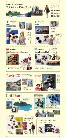 """【日本初上陸】海外ローカルチョコレートを多数掲載、令和最初のバレンタインに贈る最強のチョコレートカタログ『幸福のチョコレート2020』をチョコレートバイヤー""""みり""""が動画で語る特設サイトがオープン"""