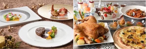 【リーガロイヤルホテル広島】美食にときめく優雅で至福な時間を。クリスマスシーズン特別メニューを販売