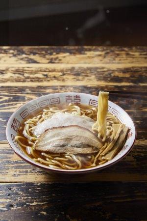 青森市「長尾中華そば」 あっさり煮干しラーメン(1杯)801円