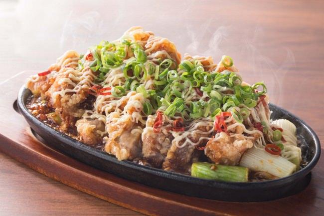 鶏ももガリっと揚げ照りマヨガーリック699円(税抜)