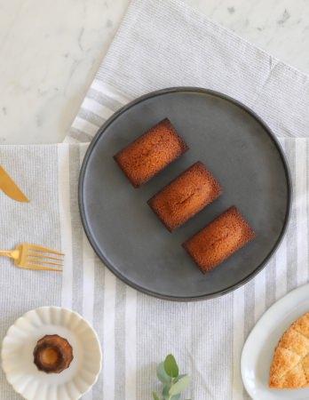 フランス産発酵バターのリッチな味わい「焼き立てフィナンシェ」