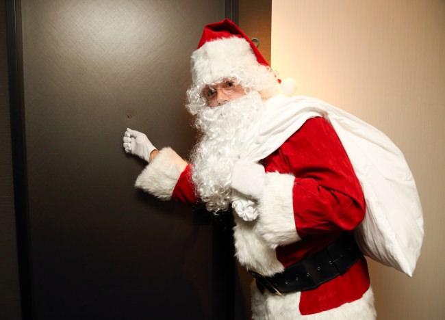 【ホテル日航大阪】クリスマス限定 サンタクロースがやってくる!!