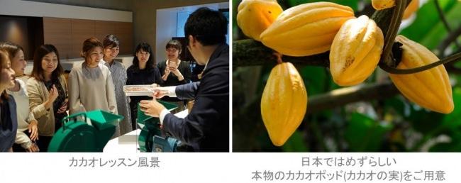 「ザ ロイヤルパークホテル 京都三条で愉しむカカオセミナー 」開催