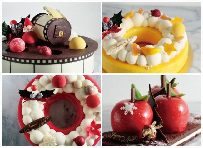 クリスマスを盛り上げる、セバスチャン・ブイエの百貨店限定の華やかなケーキが登場!