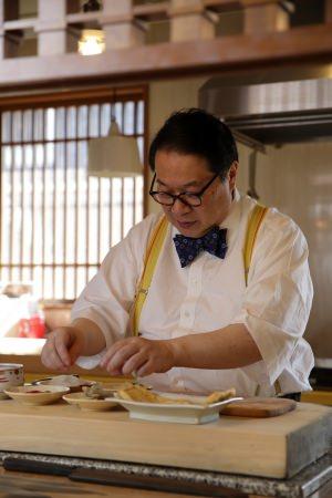3代目主人森川氏は音楽はじめ芸術全般を趣味にする京都文化人のひとり