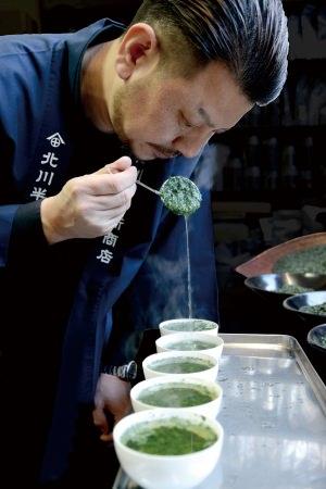 京都宇治の老舗茶問屋「北川半兵衛商店」の宇治抹茶を使用