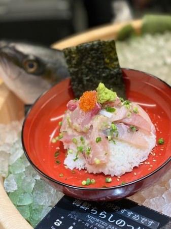 うお田自慢の海鮮丼