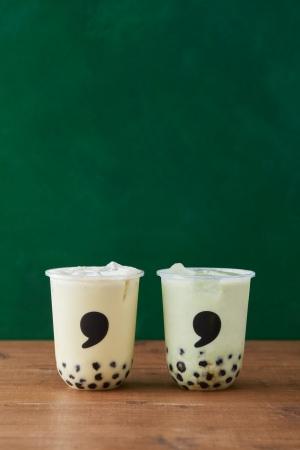 地元企業と商品開発!宮城県産ブランドエダマメを使用した「こだわりのずんだタピオカドリンク」がcomma tea(コンマティー)全店に期間限定で登場!1月6日(月)より販売開始