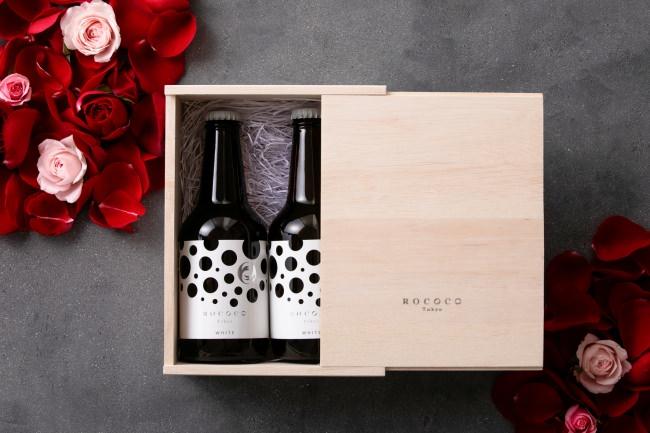 大切な人にこそ贈りたい、日本初のラグジュアリービール「ROCOCO Tokyo WHITE」バレンタイン限定で一般販売