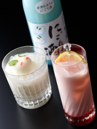 TOP BAR ICEHOUSE 新潟フェア カクテルイメージ